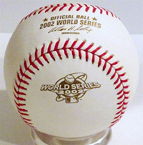 Rawlings 2002 Official World Series Game Baseball
