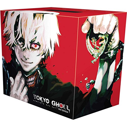 Tokyo Ghoul Complete Box Set: Includes vols. 1-14 with premium (Best Cool Box Uk)