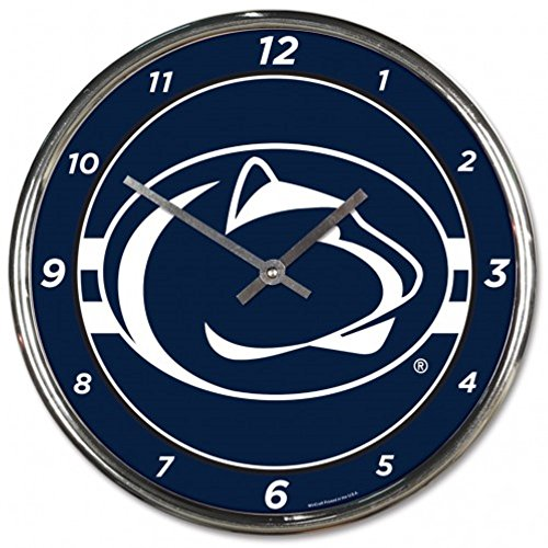 - NCAA Penn State Nittany Lions WinCraft Official Chrome Clock