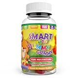 Gummymore's Essential Kids Multivitamin Gummies – Chewable Vitamins & Minerals with A,C,B6,B12 for Children, Toddlers and Teens. Supports Immune, Energy, Metabolism. No-Gelatin, Sugar-Free, Non-GMO