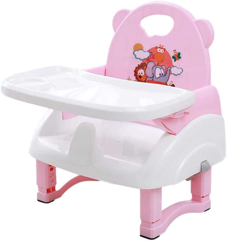High Chair Seat For Babies Booster Dining Baby High Chair Seats Comfortable Deluxe Foldable Booster Seat Adjustable Height Easy To Clean Compact Booster Seat for Kids 0-3 Year Old