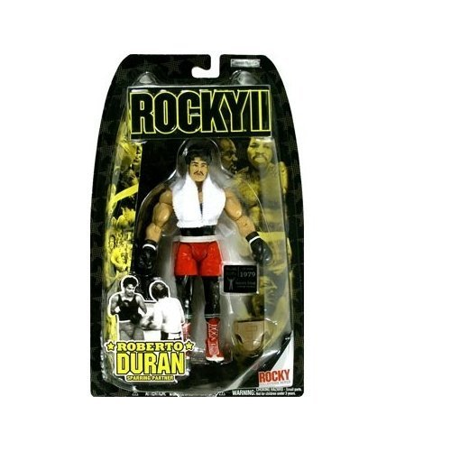 - Roberto Duran Sparring Partner Action Figure - Rocky II by Rocky