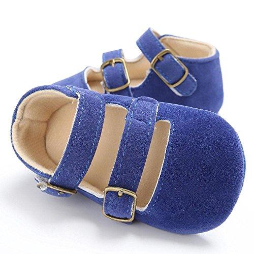 cd1dc5f11e2fb DDLBiz Lovely Baby Girls Buckles Design Newborn Crib Soft Sole Shoes ...