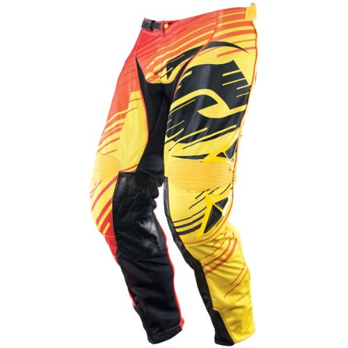 Answer Apparel Red Riding - Answer Alpha Air Pants Yellow Red US 34