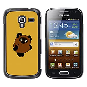 LECELL--Funda protectora / Cubierta / Piel For Samsung Galaxy Ace 2 -- Oso lindo --