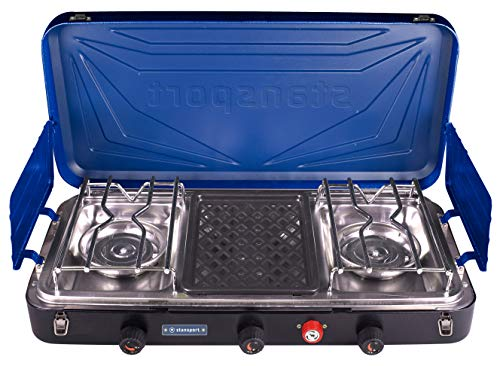 Stansport Propane Camp Stove Griddle Combo