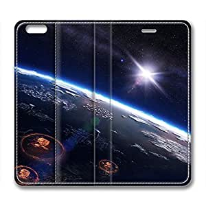 Galaxy Personalized Design Iphone 6 Leather Case Distant Outerspace
