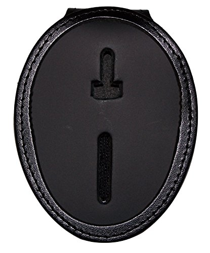 (Belt Clip Badge Holder with Pocket and Chain for Los Angeles or Phoenix (Cutout PF158))