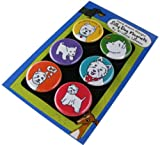 Westie Silly Dog Magnets