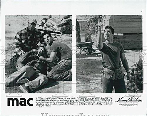 "1992 Flatten Photo Actors John Amos, John Turturro And Steven Randazzo In ""MAC"""