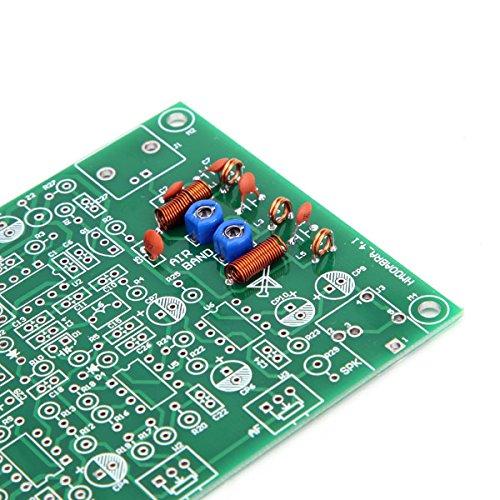 Tangxi Airband Radio Receiver DIY Kit Receptor de Banda de Aviaci/ón con Alta Sensibilidad Soporta Recibir Se/ñal Am 118-136MHz