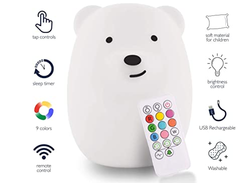 Bedrooms LED Nursery NightLights with Touch Sensor