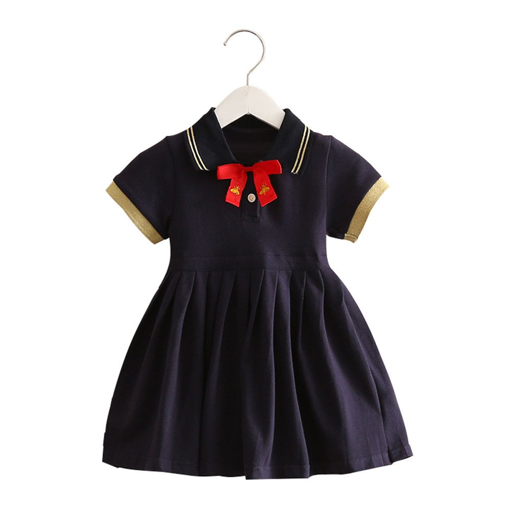 Mud Kingdom Girl Pleated Dress School Uniforms for Girls SQ0173