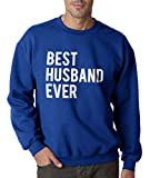 Best Crazy Dog Tshirts Gifts For Newlyweds - Best Husband Ever Funny Marriage Crew Neck Sweatshirt Review