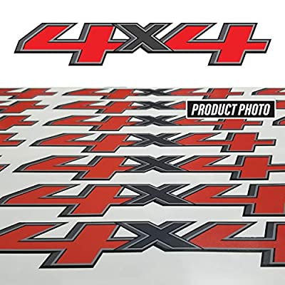 TiresFX GMC Sierra 4x4 Truck Decals 2014-2020 Bedside Replacement Stickers/Set of 2: Clothing