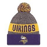 Amazon Price History for:New Era Knit Minnesota Vikings Purple On Field Sideline Sport Knit Winter Stocking Beanie Pom Hat Cap 2015