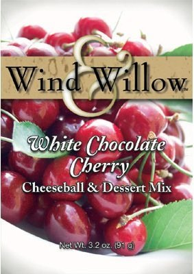 Wind & Willow White Chocolate Cherry Cheeseball Mix (4 Pack) by Wind & Willow