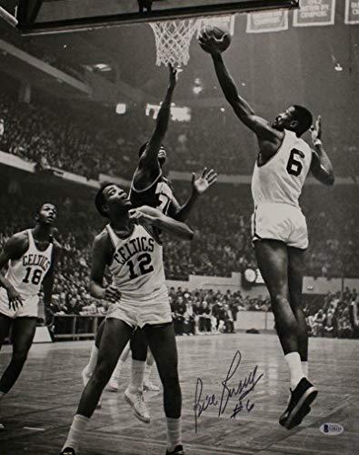Bill Russell Autographed/Signed Boston Celtics 16x20 Photo BAS