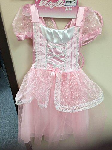 Jason Party Girls' Princess Dress Pink 7-9 Year (Jason Fancy Dress)