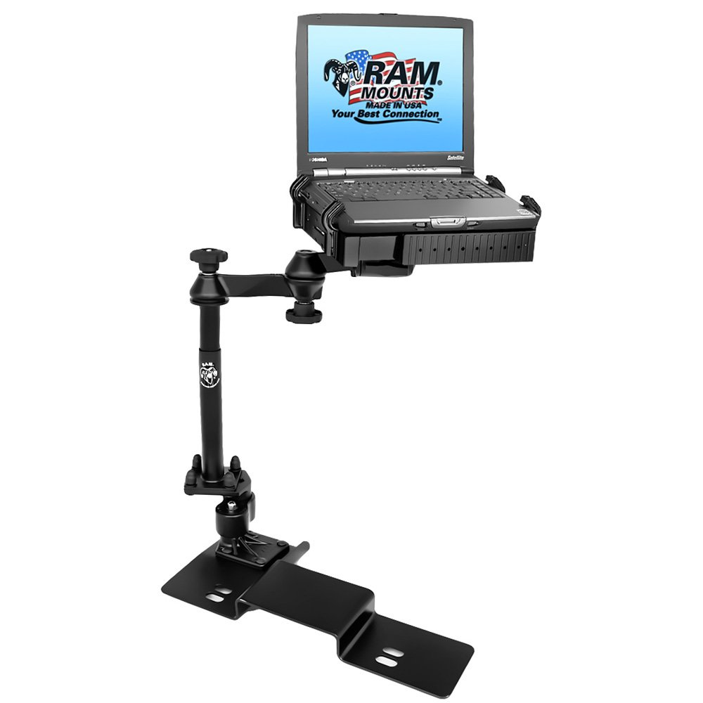 RAM MOUNTING SYSTEMS RAM Mount No-Drill Laptop Mount f/Ford F-150 (2004-2013) & Lincoln Mark LT (2005-2010) / RAM-VB-109A-SW1 /