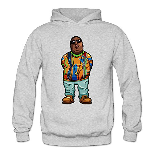 DETO Women's Notorious Hooded Sweatshirt Ash Size ()