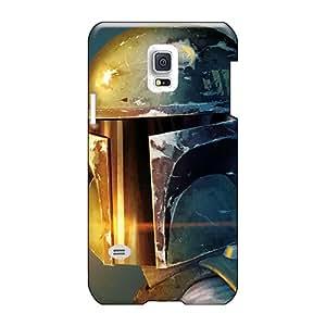 IanJoeyPatricia Samsung Galaxy S5 Mini Great Cell-phone Hard Cover Provide Private Custom Beautiful Boba Fett Series [Gsl26742hkoz]