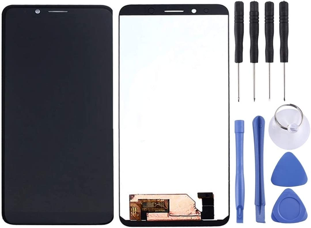 Black Touch Screen Replacement Parts DUANDETAO Touch Panel Color : Black LCD Full Assembly for Doogee S90C