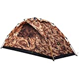 1 Person Backpacking Tent - Automatic Instant Pop Up Mountaineering Tent Lightweight Waterproof for Camping Hiking Traveling by Ai-Uchoice