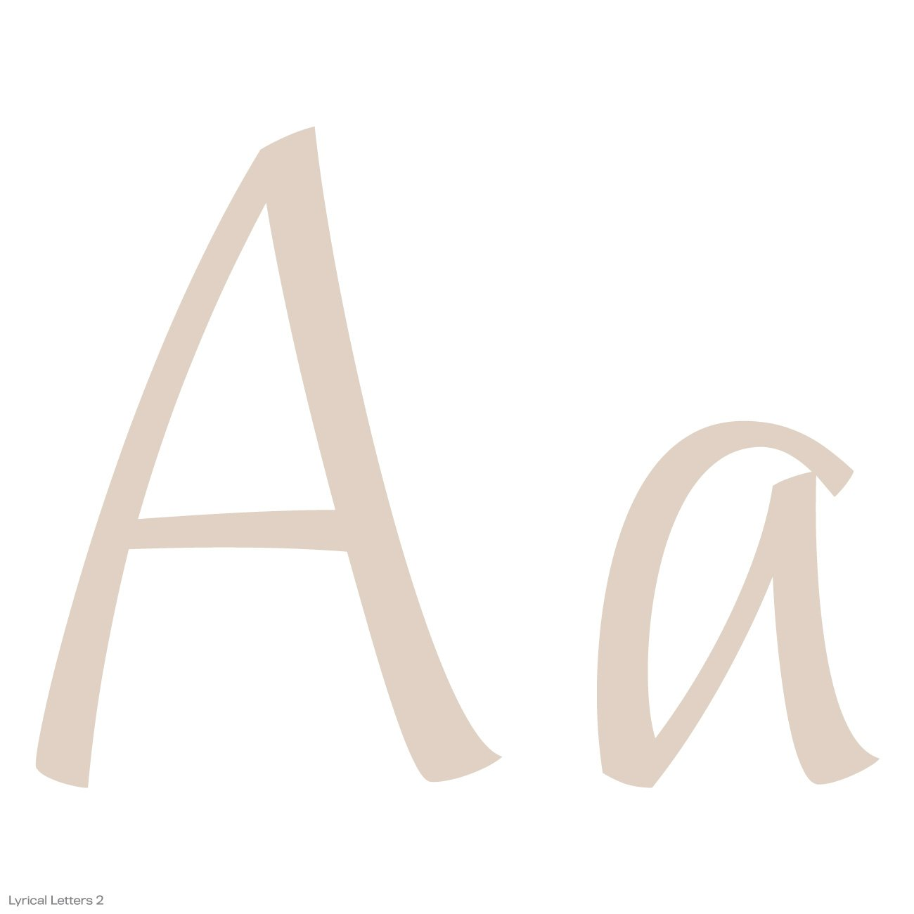 Cricut Lyrical Letters 2 Cartridge by Cricut (Image #24)