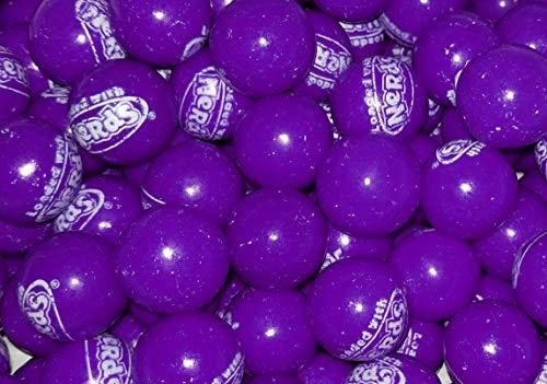 Purple Wonka Nerds Filled Gumballs - 1 Pound Bulk Pack