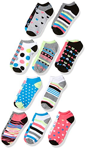 Modern Heritage Women's Hearts, Dots and Stripe 10 Pack, Multi, (Heritage Heart)