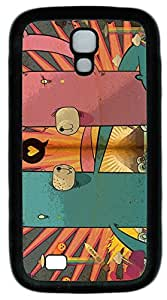 samsung galaxy s4 case,custom samsung galaxy s4 i9500 case,TPU Material,Drop Protection,Shock Absorbent,Customize your own cell phone case pattern,black case, Pink bear and green bear