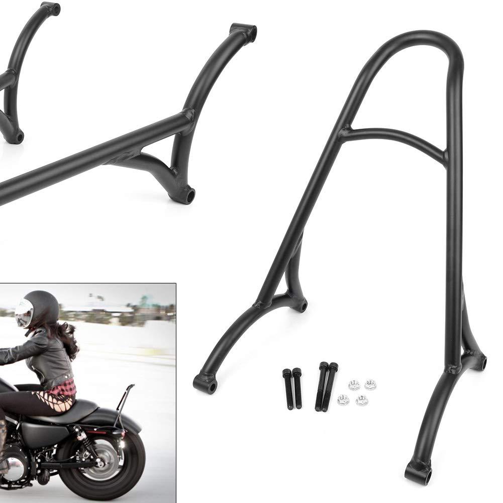 passend f/ür Harley Davidson Sportster XL883 2004 2017 und mehr GZYF R/ücksitzb/ügel aus Edelstahl Schwarz