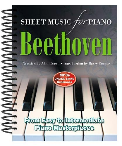 Ludwig Van Beethoven: Sheet Music for Piano: From Easy to In