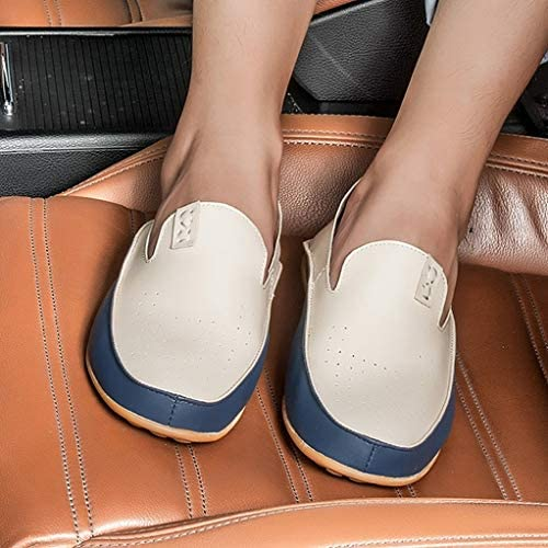 ドライビングシューズ メンズ ローファー 防滑 スリッポン デッキシューズ シューズ フォーマル メンズファッション 大きいサイズ 靴 シューズ お兄系 春 春物 運転用 プレゼント ブラウン モカシン 通気性