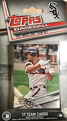 (Chicago White Sox 2017 Topps Factory Sealed Special Edition 17 Card Team Set with Jose Abreu and Yoan Moncada Plus)