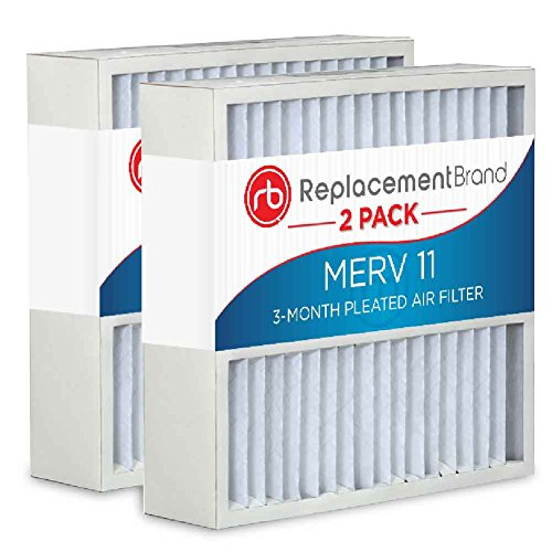ReplacementBrand Air Purifier Replacement Filter - 22 x 28 x 4 MERV 11 Pack of 2