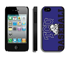 Diy Phone Protector Best Cases for Iphone 4s Designer Iphone 4 Cover Cell Phone Accessories TCU Horned Frogs 5