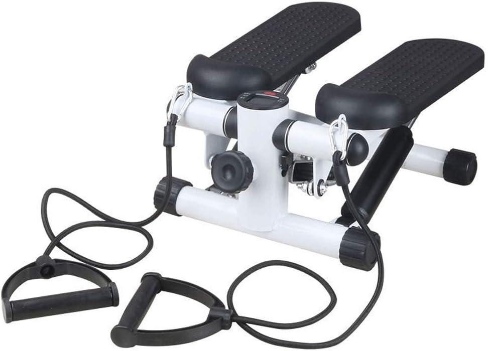 WiaLx Port/átil Quiei Y Eficiente M/áquina de Ejercicios aer/óbicos Ajustables for Ejercicios aer/óbicos Deportivos dom/ésticos Color : Black, Size : Casual Size