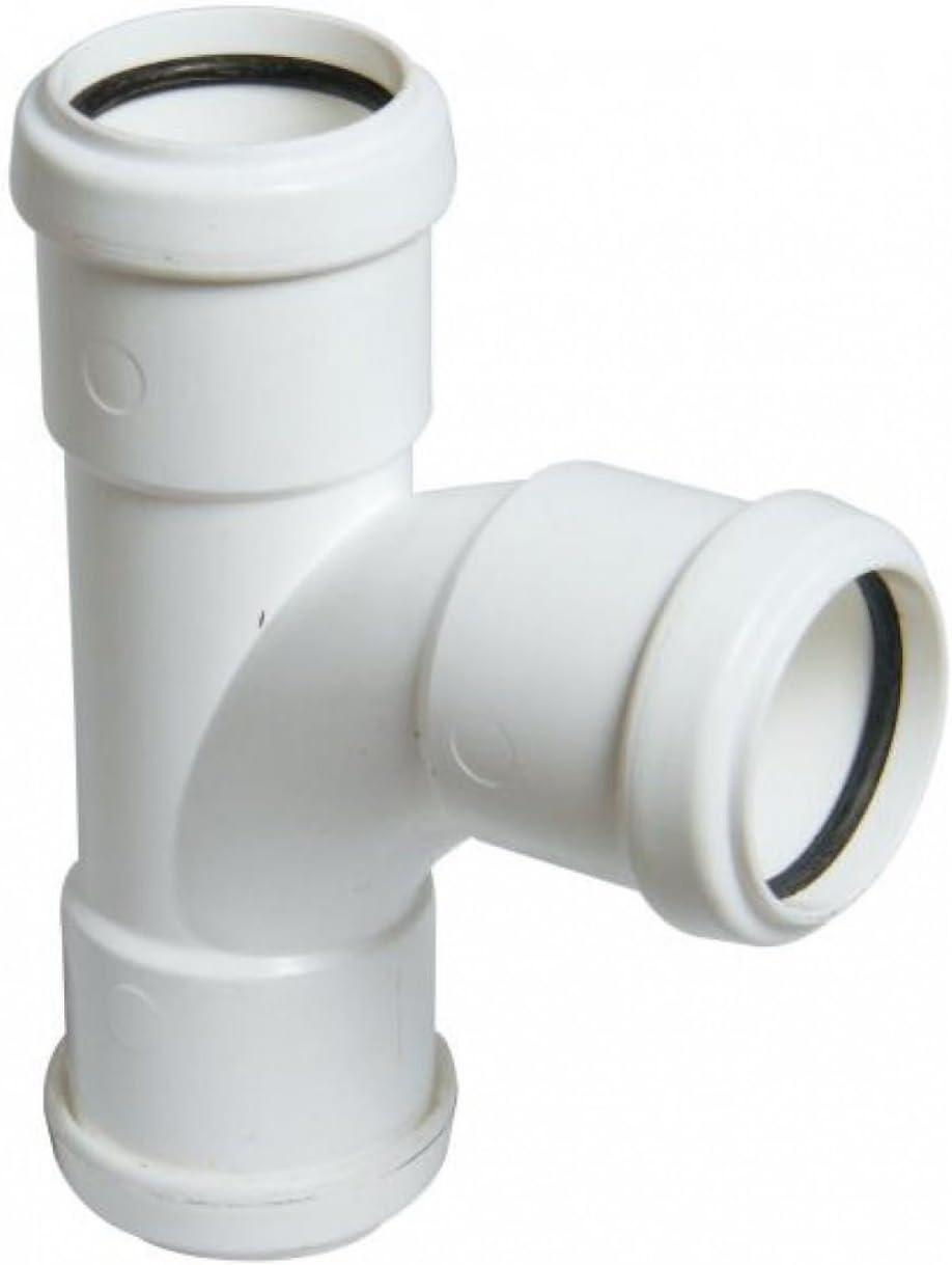 Empalme de tuber/ía de residuos acodado de Home Standard/® FloPlast