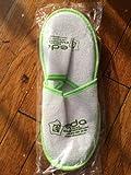 Premium Open Toe Terry Spa Slippers White