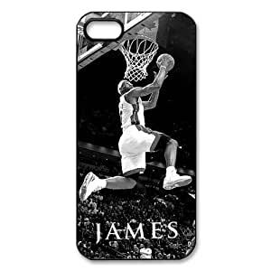 Custom Your Own Personalised NBA Miami Heat LeBron James iPhone 5 Best Durable Case Cover