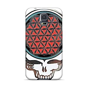 KevinCormack Samsung Galaxy S5 Durable Cell-phone Hard Cover Unique Design Colorful Grateful Dead Band Pattern [OsV5632UZIb]