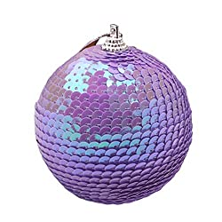 Glittery Sequins Christmas Tree Balls