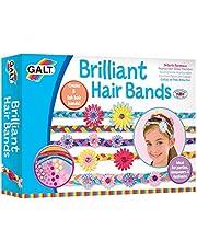 Galt 1004309 Toys, Brilliant Hair Bands,Multicolor