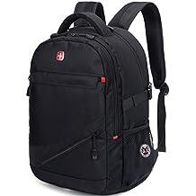 Warriors Saber Business Laptops Backpack ,Peofessional Backpack,Water Resistant Backpack women & men,college students, Up To 17-Inch laptops,Notebook,Travel Backpack,School Daypack (Black)