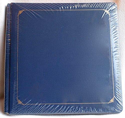 creative-memories-12x12-coverset-album-original-old-style-navy-dark-blue-gold-accent