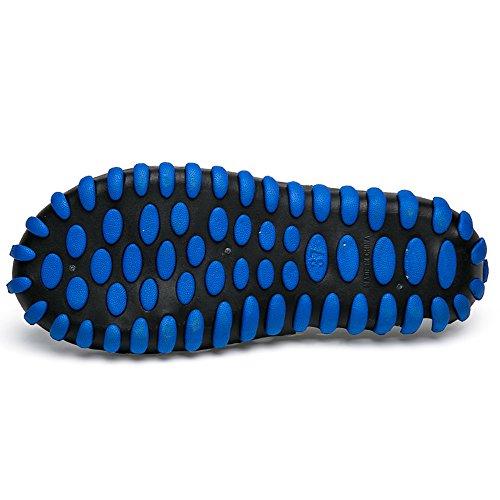 Mxson Womens Slip On Sandalo Beach Garden Zoccolo Massaggio Acqua Scarpe Nero Blu