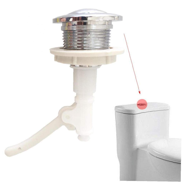 Accesorios de Hardware de Forma Redonda Aseo Prensa Cisterna Instalaci/ón de Doble pulsador Flush