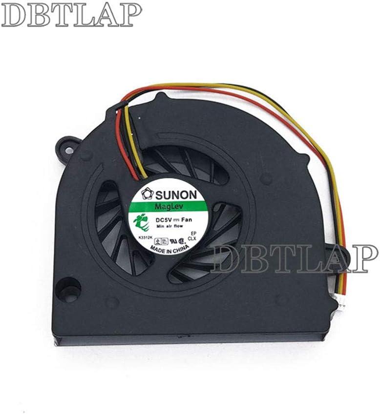 DBTLAP Laptop CPU Fan Compatible for Toshiba C760 C670D C675 L775 L770 L770D L775D Cooling Fan MF60090V1-C000-G99 KSB06105HA-AL1S DFS531305M30T FAJ5 H000026650 13N0-Y3A0Y01 3wire